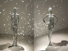 Mirror Shard Sculptures And Performance By Lilibeth Cuenca Rasmussen