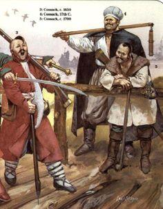 Cosacos siglo XVII