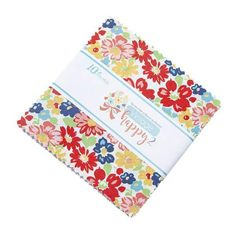 Vintage Happy 2 Riley Blake Stacker 42 Precut Fabric Quilt Squares by Lori Holt Nancy Notions, Charm Pack Quilts, Vintage Housewife, Bee In My Bonnet, Retro Fabric, Fabric Squares, Riley Blake, Square Quilt, Floral