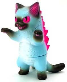 Best of Plastic Kaiju: Year 1 Name: Ice CandyPlatform: Kaiju NegoraArtist: KonatsuManufacturer: KonatsuyaMaterial: Sofubi