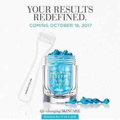 This is exciting... want on my wait list? Everyone who gets in the list now and orders on the 18 will be in a draw for a freebie. Not just any freebie.... ANOTHER one of the newest products to be launched today - the brightening complex eye cream... say goodbye to dark bags! Message me NOW!!!