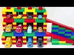 Cars Disney Building a Garage Lightning McQueen Haulers Cartoon for Kids Building A Garage, Lightning Mcqueen, Disney Cars, Cartoon Kids, Toys, Gaming, Games, Toy