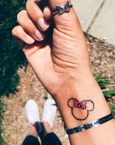 64 Ideas tattoo ideas female small ears tat for – Tatto Mickey Tattoo, Mickey Mouse Tattoos, Disney Tattoos Klein, Disney Tattoos Small, Small Tats, Tattoos For Women Small, Mimi Y Mickey, Friday The 13th Tattoo, Tattoo Now