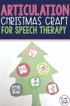 Fun and Easy craft for practicing articulation with a Christmas theme! Articulation Therapy, Articulation Activities, Speech Therapy Activities, Book Activities, Preschool Activities, Speech Language Pathology, Speech And Language, Christmas Speech Therapy, The Napping House