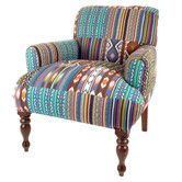 Found it at Wayfair.co.uk - Ikat Patch Maharaja Armchair