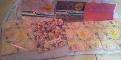 Lot of 7 Gift Wrapping Paper-All Occasions Birthday Cleo Hallmark