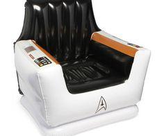 Star Trek Inflatable Captain's Chair
