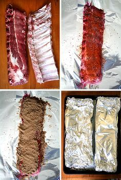 Baby back ribs, cornbread and salad.