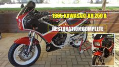 1985 Kawasaki KR 250A - Restoration Complete. The Full Story