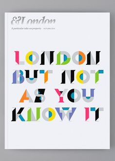 &London — Cover on Typography Served