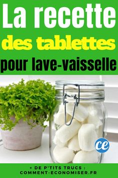 DIY: the easy recipe to make homemade tablets with essential oils, baking soda, citric acid and soda crystals.