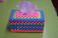 craft nylon tissue box cover