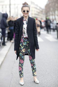 Paris Fashion Week Street Style 2012