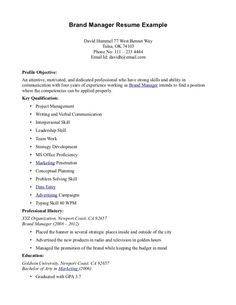 proffesional resume format