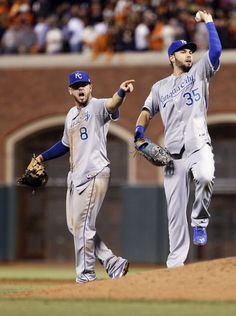 Kansas City Royals Mike Moustakas, Eric Hosmer
