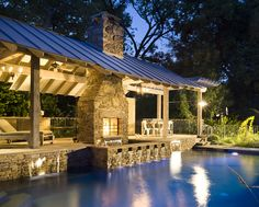 outdoor living pool - Google Search