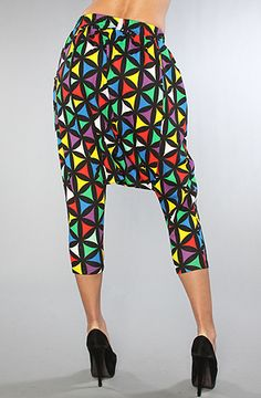 The Joyrich x Giza Multi Geometric Harlem Pants  Man I would be so ready for next year's throwback day. Too bad the price is outrageous.