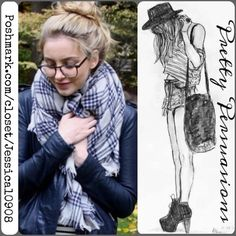 NWT Blue Plaid Fringe Hem Scarf Wrap NEW Plaid Blanket Scarf Wrap  Available in red plaid, blue plaid & multicolored plaid   Measurements:  Material: Cotton Blend   This oversized blanket scarf features super soft and warm material and is the perfect cold weather companion.    Great addition to your fall and winter wardrobe & right on trend!   Please request an individual listing if you'd like to purchase. Please do not purchase this listing. Thank you.   Bundle discounts available  No pp or…