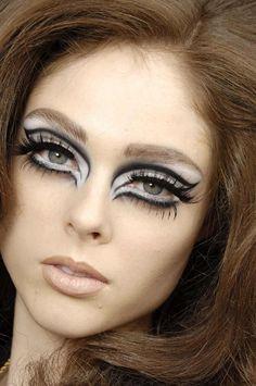 Coco Rocha's Makeup