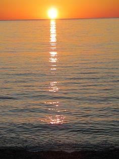 #sunrise in #sirolo, #italy