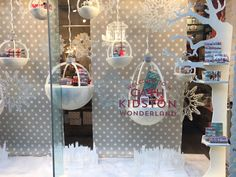 Cath Kidston's Piccadilly store shows off some fine paper cutting skills #vmchristmasawards Why not enter?