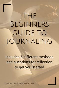 If you want to start a journal but don't know where to begin, this guide is for you. I walk you through the whole process, and include 6 different methods and questions for reflection. Therapy Journal, Yoga Journal, How To Journal, Bujo, Journal Writing Prompts, Art Journals, Reading Journals, Bullet Journals, Mind Reading Tricks