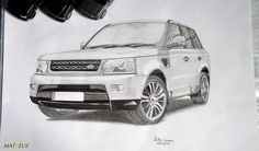 drawings of range rover sport - Google Search