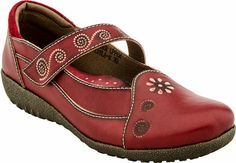Spring Step Tayla women's casual (Red)