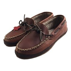 Men's Leather Moccasins with Rubber Sole 1769