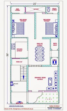 House Plan 25 X 50 Luxury 28 [ House Map Design 25 X 50 ] Of House Plan 25 X 50 Beautiful East Facing House Plans for Site 5 Marla House Plan, 2bhk House Plan, 3d House Plans, Indian House Plans, Model House Plan, House Layout Plans, Best House Plans, Simple House Plans, Bungalow House Plans