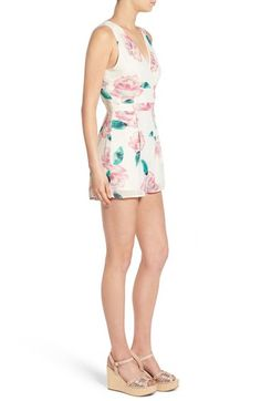 floral romper from Nordstrom-- size small