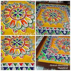 Fantasy Art Angels, Anime Art Fantasy, Clay Wall Art, Clay Art, Mural Painting, Mural Art, Paintings, Krishna, Rajasthani Art
