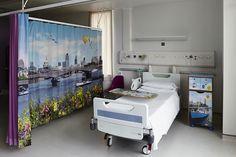 Artistas dão vida a paredes de hospital infantil e levam alegria pra crianças doentes