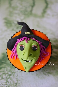 Wicked Witch Cupcake!!!