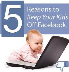 Social media is fun and all but it can be unsafe for your kids in the long run, check out why you need to keep them off of social media sites. #facebook #toddler #safety