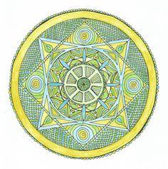 Mandala komunikace Painting & Drawing, Decorative Plates, Drawings, Paintings, Home Decor, Mandalas, Decoration Home, Paint, Room Decor