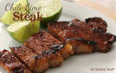 Chili Lime Rubbed Steak Recipe