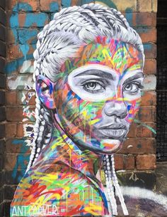 Amazing new paste up on Sclater Street by @antcarver in London