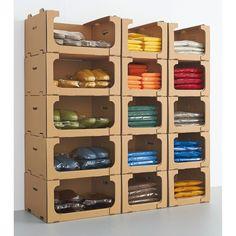 Racking System, Cardboard Paper, Funky Furniture, Bathroom Medicine Cabinet, Shoe Rack, Workplace, Locker Storage, Paper Crafts, Flat Irons