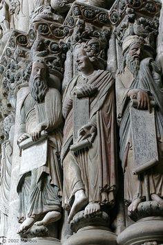 Foto de Santiago de Compostela, Portico de la Gloria, Galicia, España - Pórtico de la Gloria