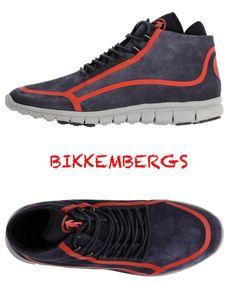 NIB $278 BIKKEMBERGS HIGH-TOP MEN'S SNEAKERS. SIZES: 10, 11 M #Bikkembergs #FashionSneakers