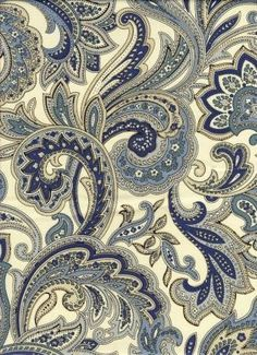 I love this fabric for a comforter or quilt for my master bedroom adding a splash of yellow and maybe some blue white and yellow highlights.
