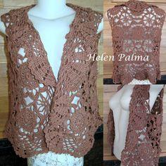bolero  vest crochet encomendas hcpalma@gmail.com