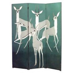 Wildlife-Themed  Screen by Baskerville