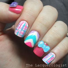 The Lacquerologist: Going Out Of My Comfort Zone with the Nail Art Society Box for April!