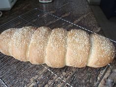 Caterpillar Bread - Wonderful Rustic Bread from BreadMan Talking: Daktyla - Greek Village Bread Greek Bread, Rustic Bread, Fruit Bread, Greek Recipes, Greek Meals, Mediterranean Diet Recipes, Bread And Pastries, Bread Rolls, Freshly Baked