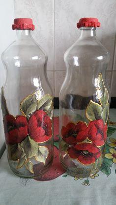 1 million+ Stunning Free Images to Use Anywhere Bottles And Jars, Mason Jars, Decoupage, Recycled Glass Bottles, Free To Use Images, Bottle Crafts, Creative Art, Lanterns, Painting