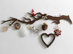 OMG, make this with hanging pictures like chrissy's ornament...family branch!