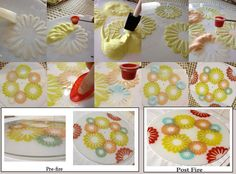 Using No Days Powder Wafers in fused glass