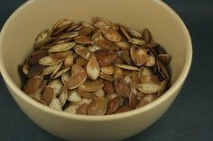 A Year of Slow Cooking: CrockPot Roasted Pumpkin Seeds Recipe